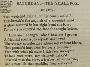 Page from a printed version of the poem