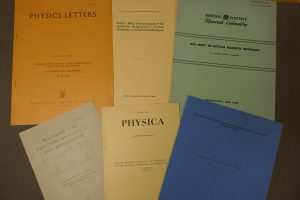 Some examples of published academic papers from the collection