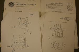 A selection of patent specifications from the collection