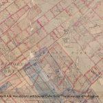 Map of mine workings under Perlethorpe, Edwinstowe and Ollerton, c.1942-1989