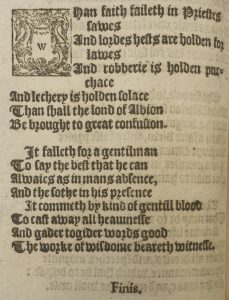 The workes of our antient and lerned English poet, Geffrey Chaucer, newly printed; 1598. Ref: Special Collection Oversize PR1850.B98 barcode 6002587503
