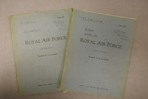 Notebooks used by Andrew at the Telecommunications Research Establishment; 1942