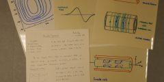 Notes and overhead projector transparencies for a lecture on 'Shielded Gradients'; 1990