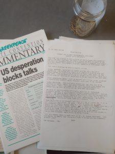 Cataloguing and preservation activities undertaken on the papers of MEP Ken Coates