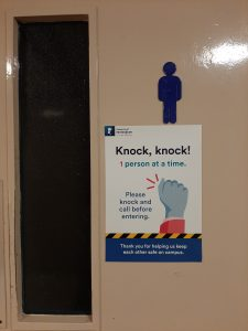 Toilet signs: open for business!