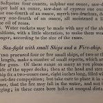Instructions for A Sea-fight with Small ships and a Fire-boat