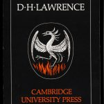Black book cover showing a white phoenix rising above red flames under the title Books on D H Lawrence