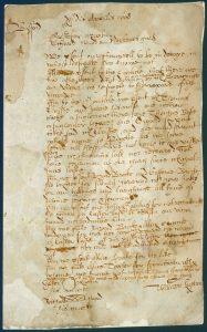 Churchwarden presentment bill