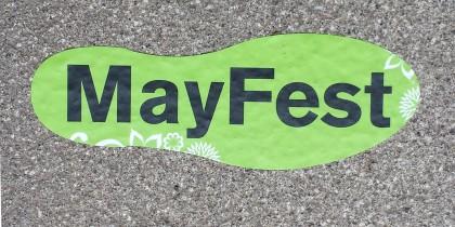Mayfest 2015 Footprint