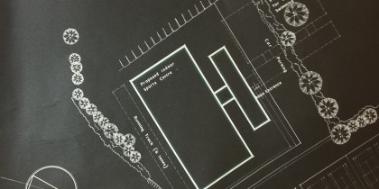 Extract from Sports Centre Plan