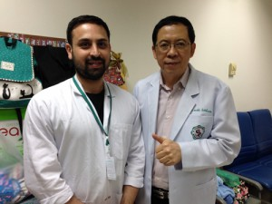 Dr Narongchai and I