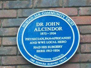 Blue Plaque for Dr John Alcindor