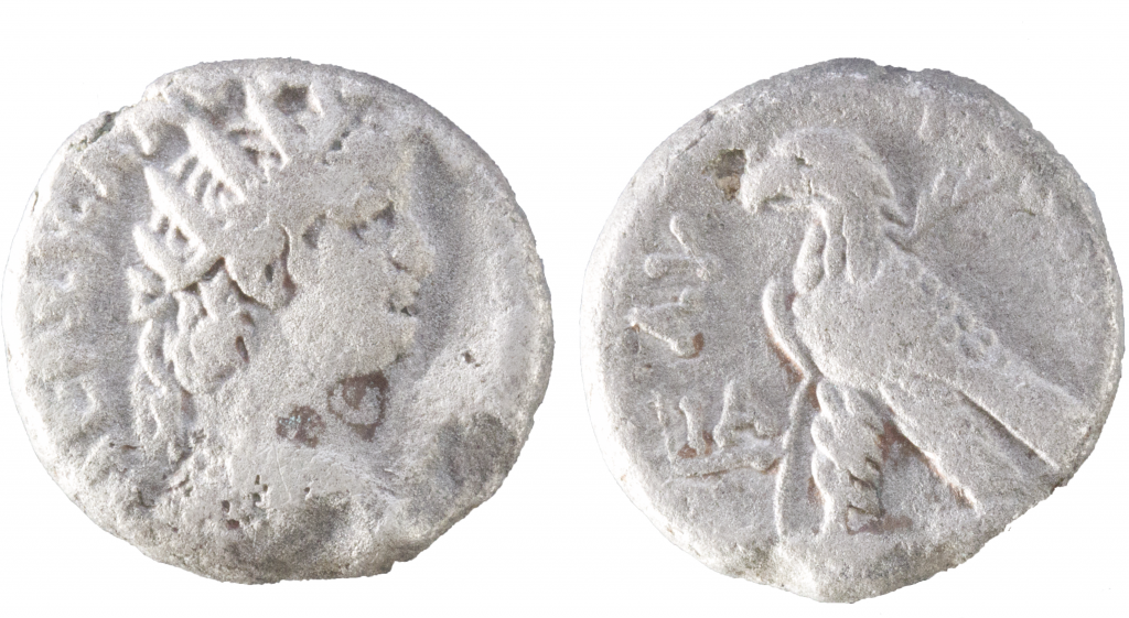 Billon tetradrachm of Nero.