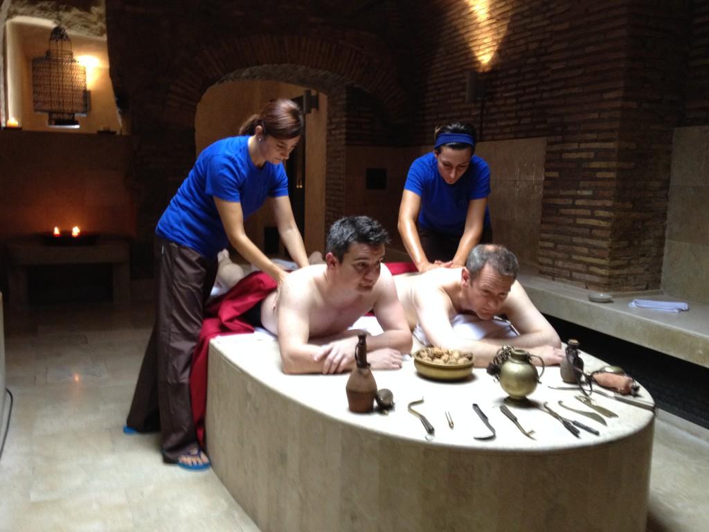 Strigils Hot Walnuts And A Roman Bath The News Room