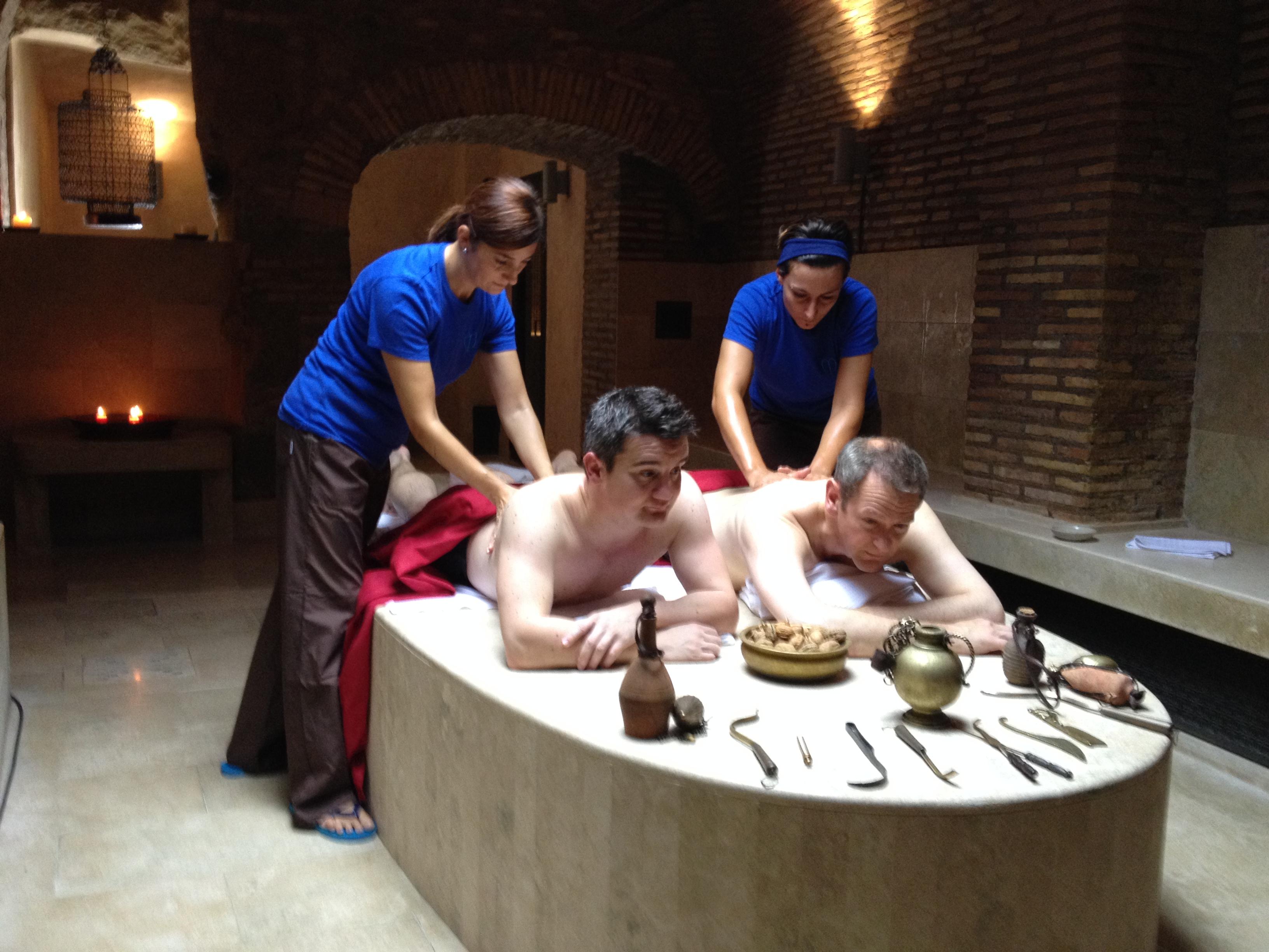 Strigils, hot walnuts and a Roman bath. - The News Room