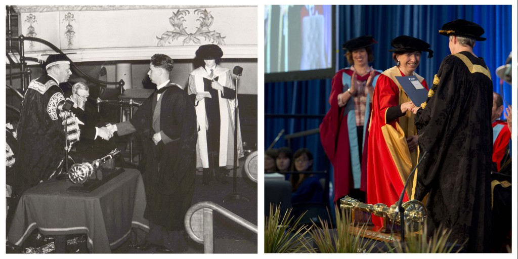 In 2015, summer graduation is hosted at the East Midlands Conference Centre, University Park