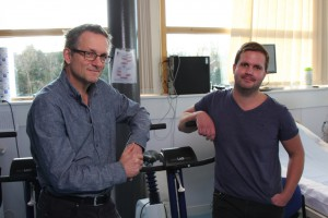 Dr Michael Mosley with Dr Phil Atherton