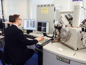 Focused Ion Beam Scanning Electron Microscope (FIB-SEM)