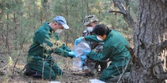 Soil-sampling-in-the-Chernobyl-Exclusion-Zone-Professor-George-Shaw-(left),-Dr-Sergey-Gaschak-(centre),-Mr-Thawatchai-Ithipoonthanakorn-(right)