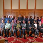 At the Alumni Laureate Dinner with other VIPs in 2010 at Royale Chulan Hotel.