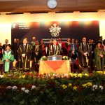 The VC at UNMC at his last ever graduation ceremony