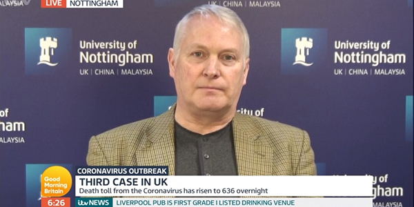 Professor Jonathan Ball on Good Morning Britain