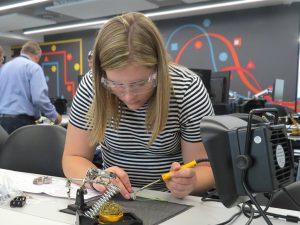 A photo of Jasmine Hibbert, Apprentice Engineer