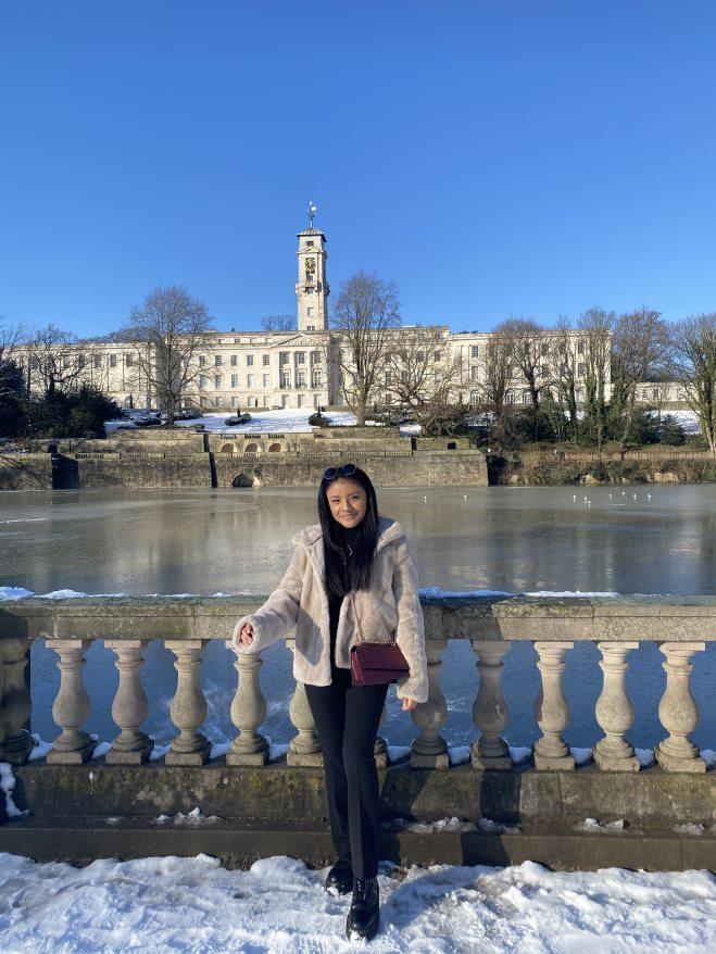 Elizabeth Quishpi pictured at University Park Campus