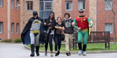 laughing linked with batman and robin