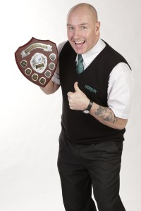 (Photo shoot 0115-023) Nottingham City Transport 2014 Bus Driver of the Year Phil Rowson