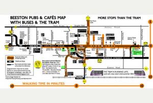 Beeston underground map