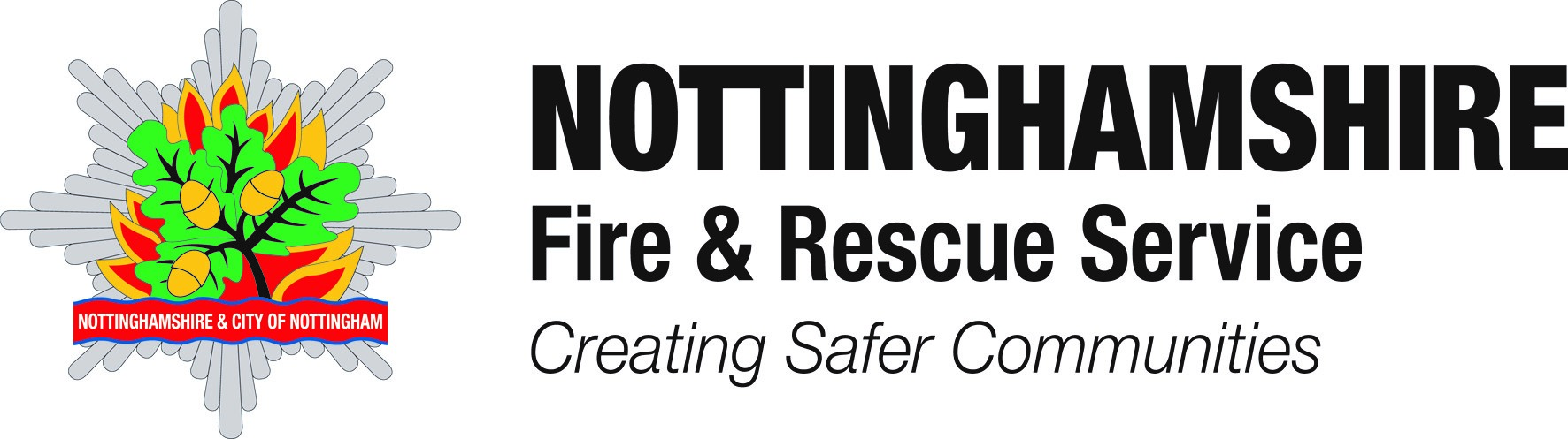 Notts Fire and Rescue logo