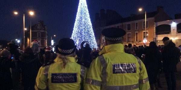 Community Protection at the Canning Christmas event
