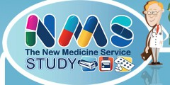 Logo for the New Medicines Service study
