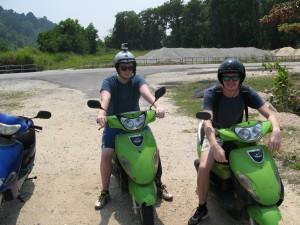 Mopeds on Pangkor