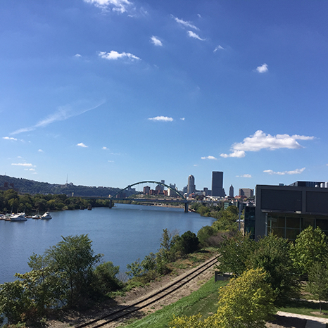 View of Pittsburgh from BSPII