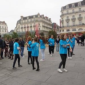 Mars Bleu Flashmob