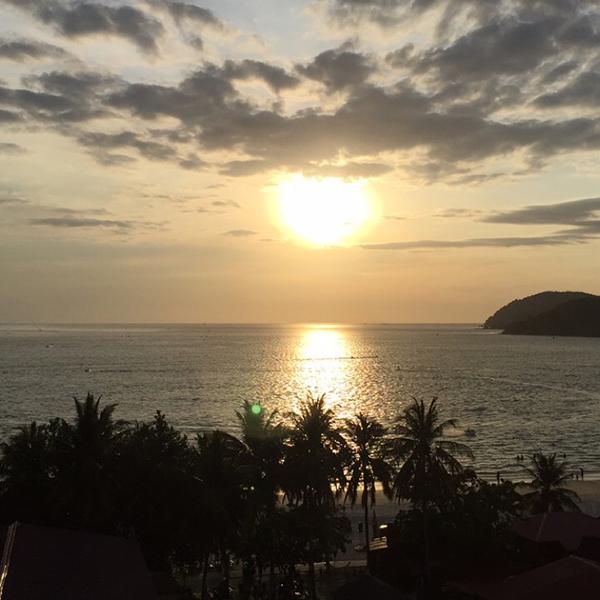 Sunset in Langkawi, Malaysia