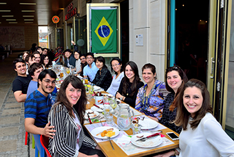 Went to a Brazilian steakhouse in Loughborough for Jean's farewell lunch