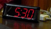 5:30 am Early start