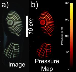 Digital 'fingerprints' of shoe patterns.