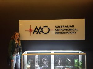 Lizzie at the AAO