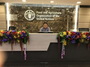 Ramon at FAO-UN