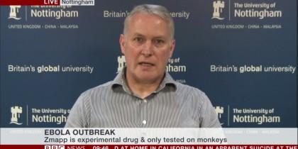 Jonanthan Ball on BBC News 12 Aug 14 (2)