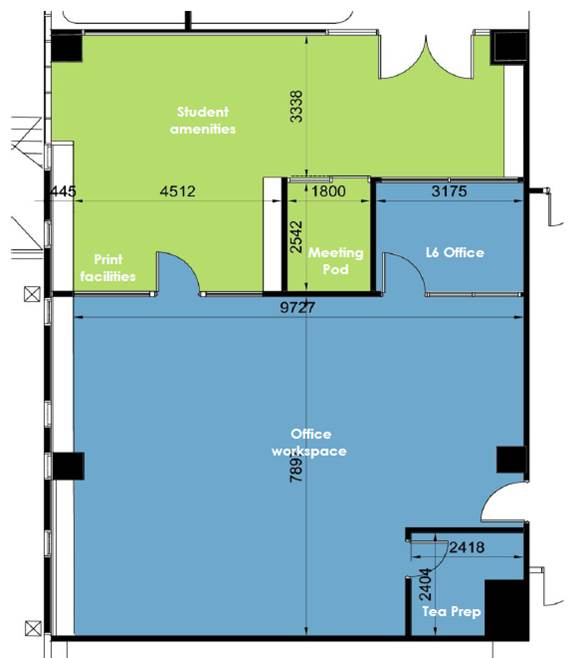 Student service centre plans updated 9 may project for Floor plan services