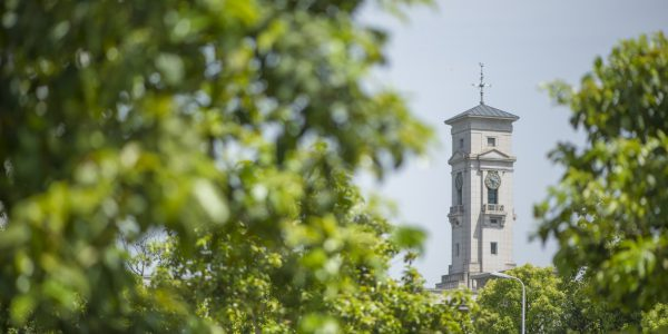Trent building tower on Ningbo campus