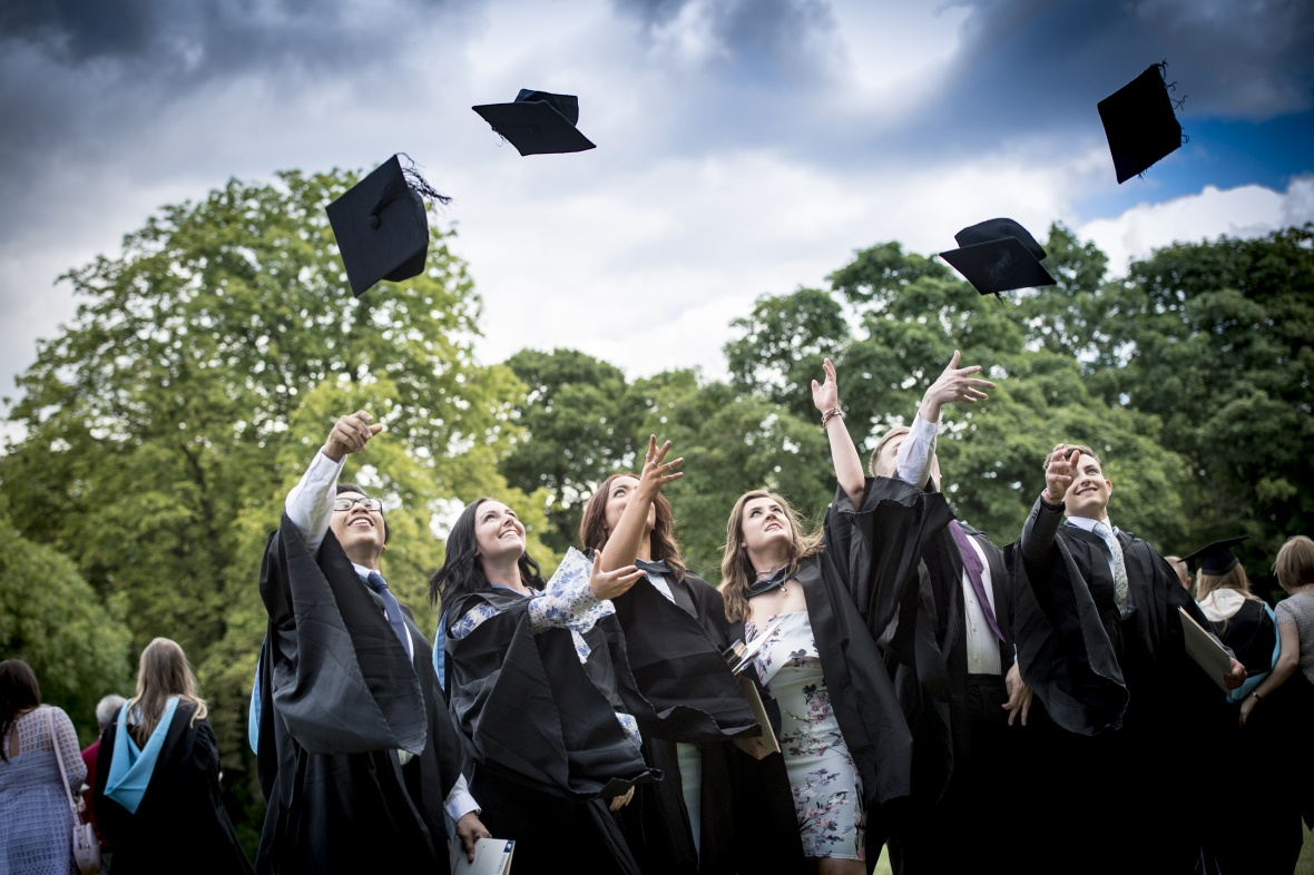 Graduates at University Park