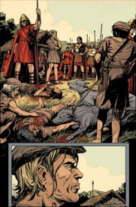 Three Art by Ryan Kelly Colours by Jordie Bellaire