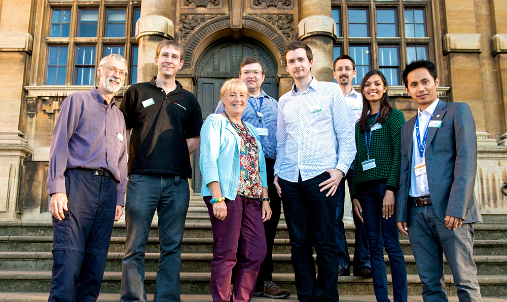 Dr Philip Dunn, Freelance Museum Educator with Nottingham City Museums Dr. David Wilkinson, Director Institute of Physics, Helen Crowfoot, Freelance Museum Educator with Nottingham City Museums, Simon Harris, British Geological Survey, Dr. Phil Oldfield, Lecturer at School of Architecture, University of Nottingham, Dr. Adam Smith, Collections Officer at Wollaton Hall Museum, Priya Ramakrishna and Kamaljit Moirangthem, PhD Researchers at School of Biosciences, University of Nottingham