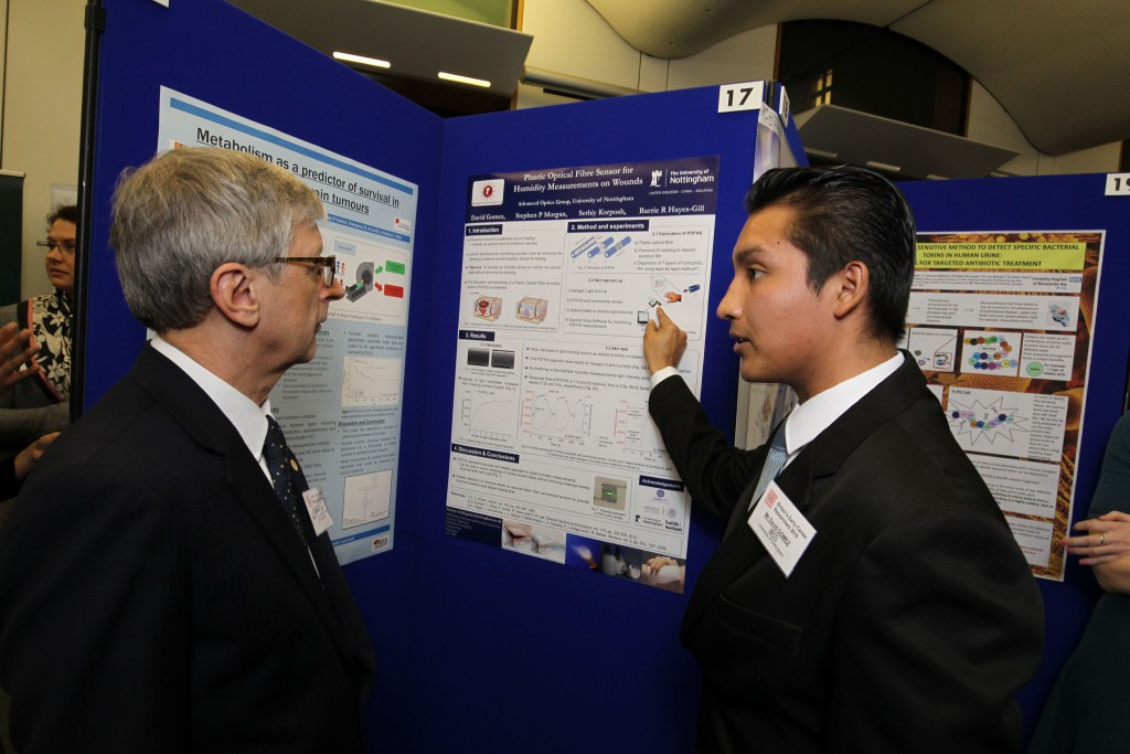 Left to right: Dr David Dent and David Gomez
